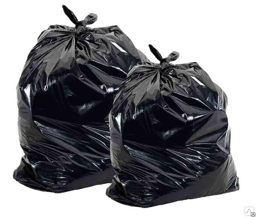 Мешки для мусора ПВД 120 литров