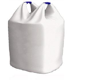 Мягкий контейнер мусоросборный полипропиленовый для пластикового мусорного контейнера с крышкой. (5 куб. м)